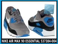 NIKE AIR MAX 90 ESSENTIAL 537384-004 szare,czarne, niebieskie w cena 380 zł, przesyłka gratis 0