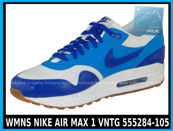 WMNS NIKE AIR MAX 1 VNTG 555284-105 - damskie buty cena 379,99 zł 2